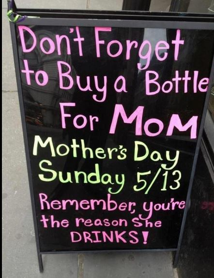 Buy Mom a Bottle
