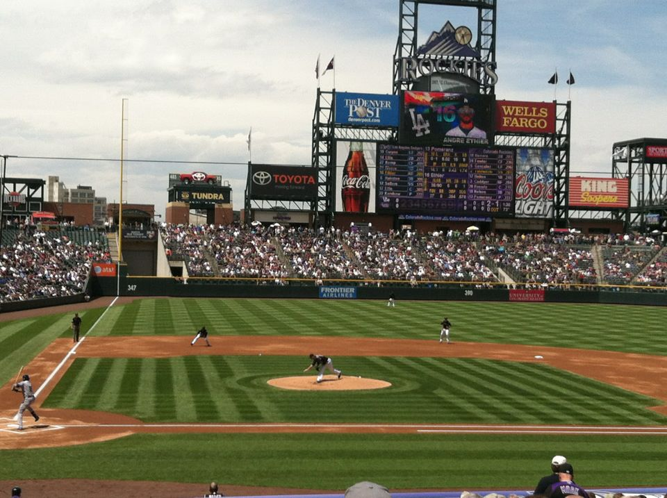 Colorado Rockies vs LA Dodgers
