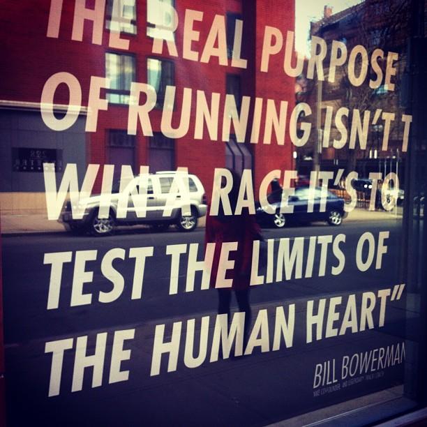 The Purpose of Running