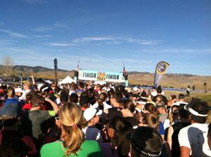 Boulder Half Marathon Starting Line