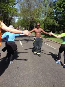 Colfax Half Marathon Firefighters