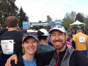 Colfax Half Marathon Start