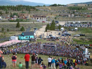 2012 Leadville Silver Rush MTB Start