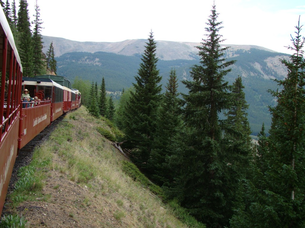 Leadville Train on the way down