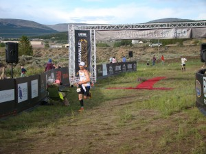 Silver Rush 50 Finish Line