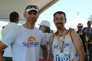 Team SunRype at Denver Triathlon