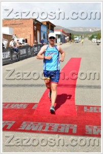 Leadville Marathon Finish Line