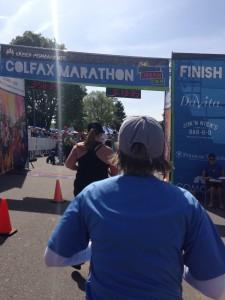 Colfax Finish Line