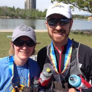 Colfax Half Marathon Finisher's Medal