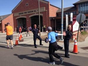 Colfax Half Marathon Fire Station