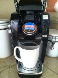 Keurig single coffee
