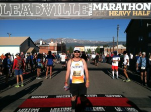Leadville Marathon Starting Line