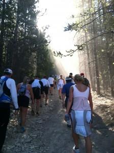 Leadville Trail Marathon Uphill