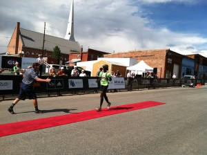 Leadville Marathon red carpet