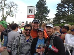 Colfax Half Marathon Corral