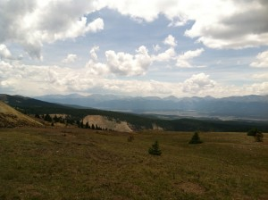 Top of Ball Mountain Leadville