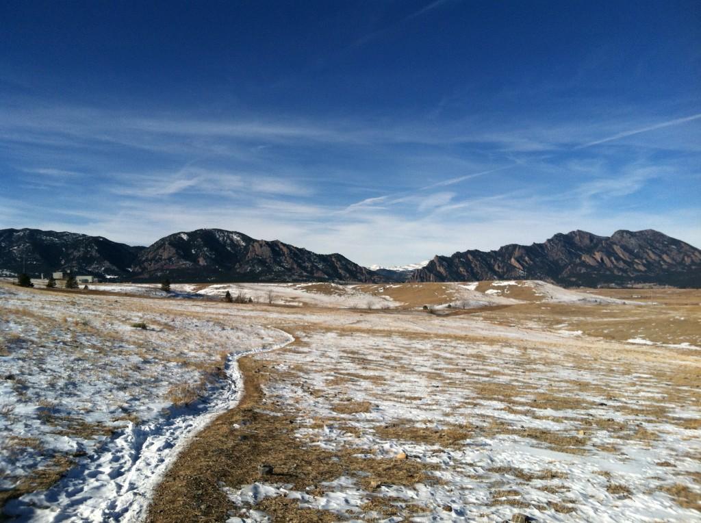 Trails in Golden, Colorado