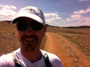 On the Greenland Trail 50k course