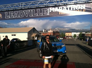 Derek at Leadville Heavy Half Marathon