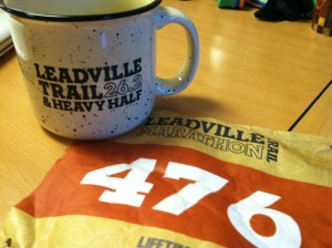 Leadville Marathon Finisher Mug