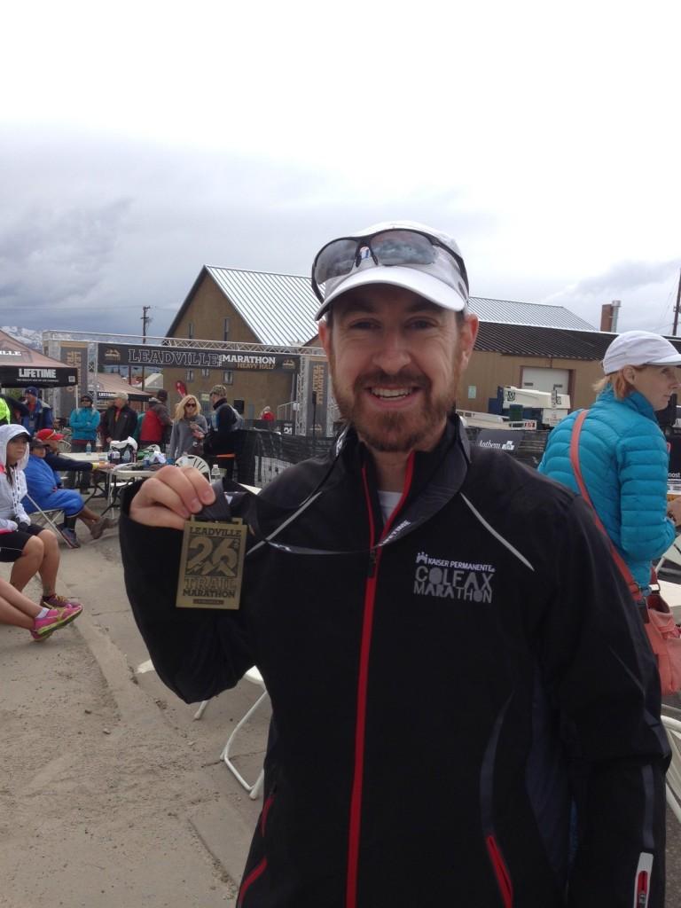 Leadville Marathon Medal