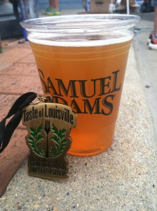 Taste of Louisville Half Marathon Beer