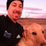 Trail Running with Dog