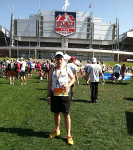 Denver Triathlon Finisher