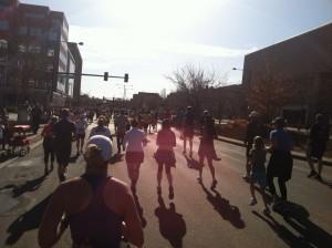 Cherry Creek Sneak 10 Mile Finish Line