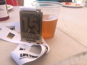 Leadville Heavy Half Finishers Medal